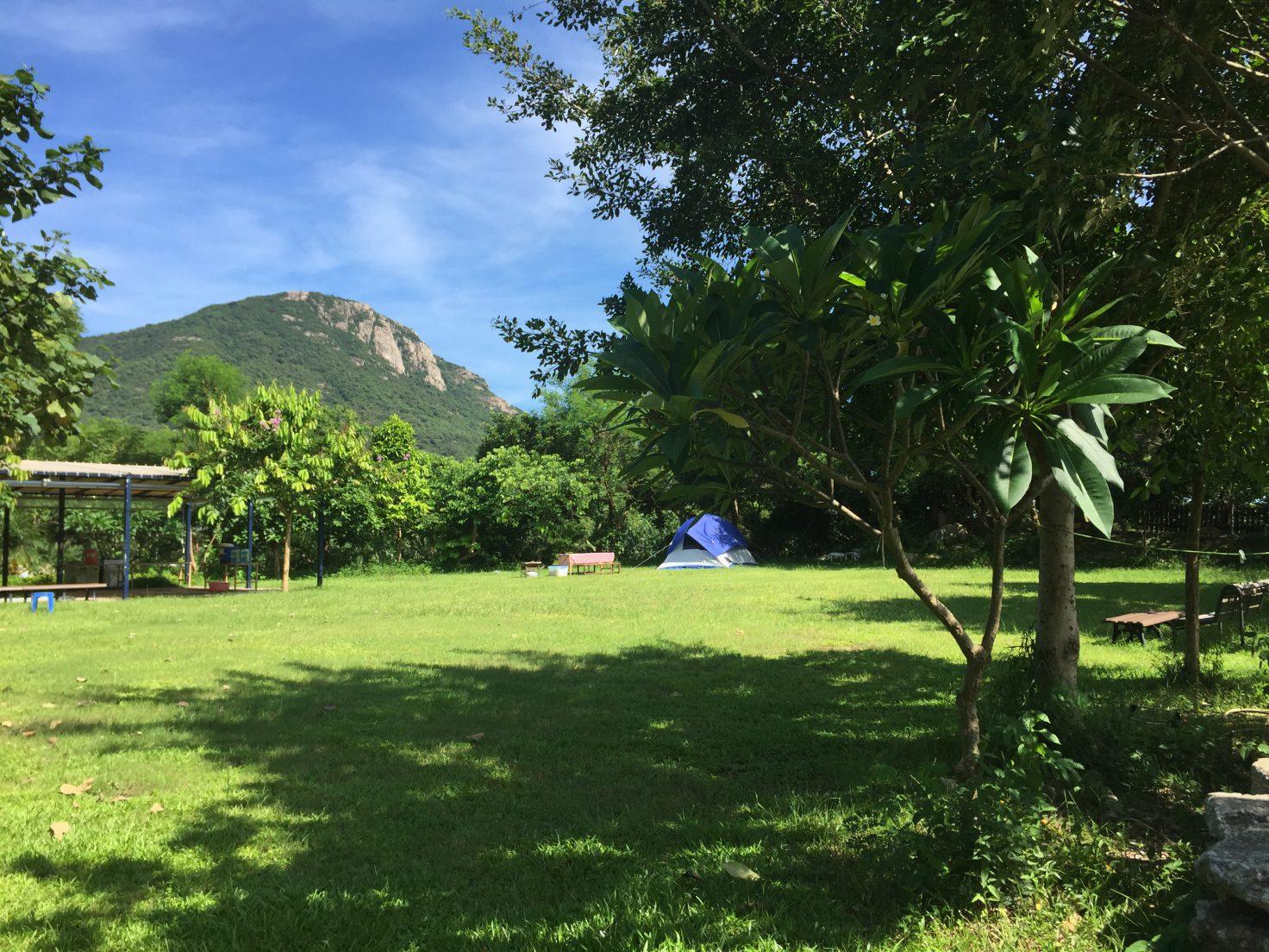 Campsite rental