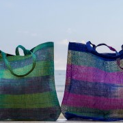 David Roden Medium Abaca Beach Bag 2