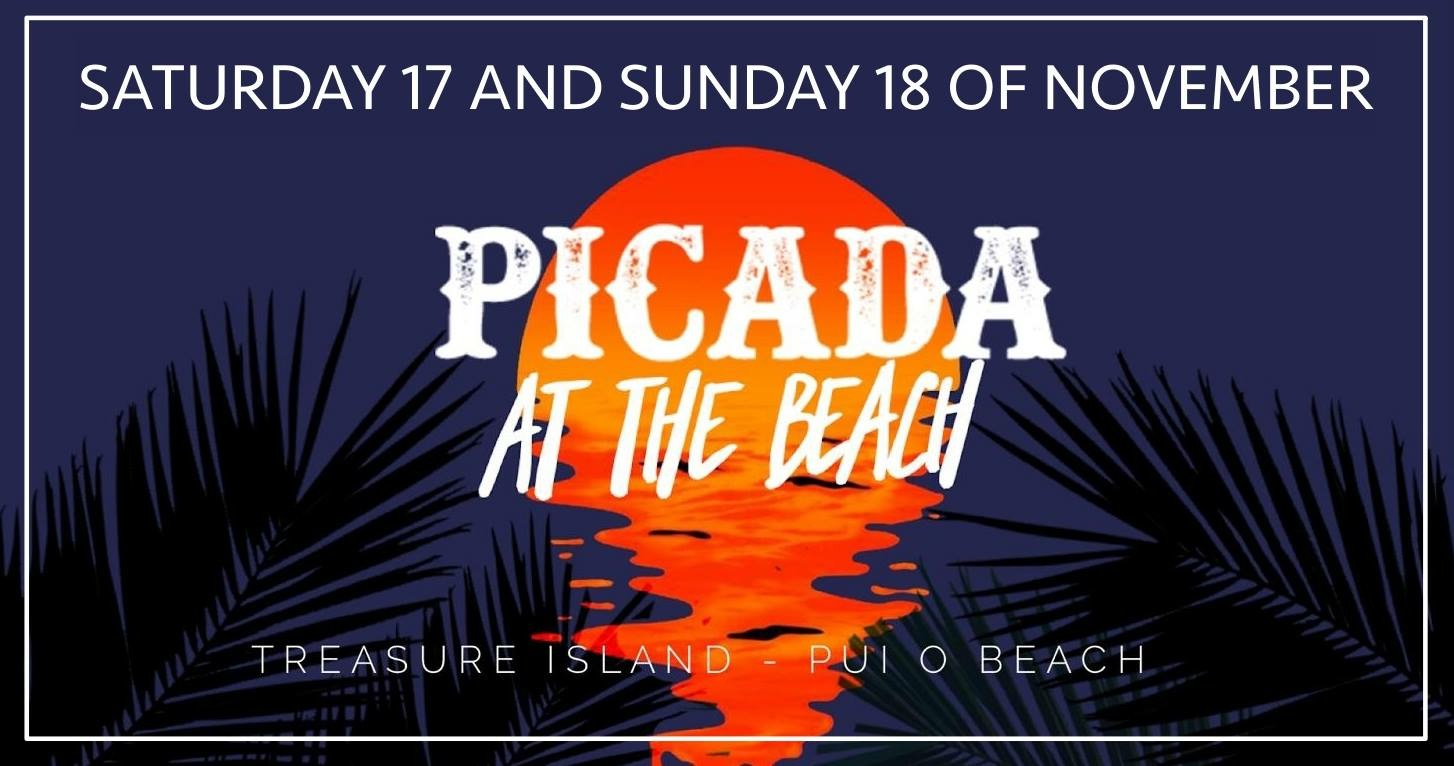 Picada On the beach Poster