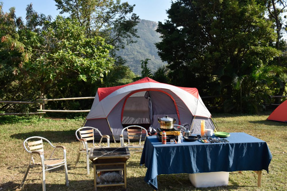 hong kong glamping, treasure island